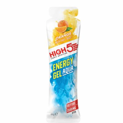 HIGH5 Energy Gel Aqua display