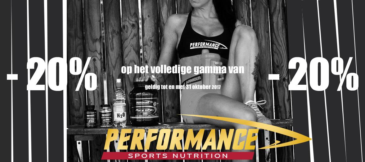 Performance actie