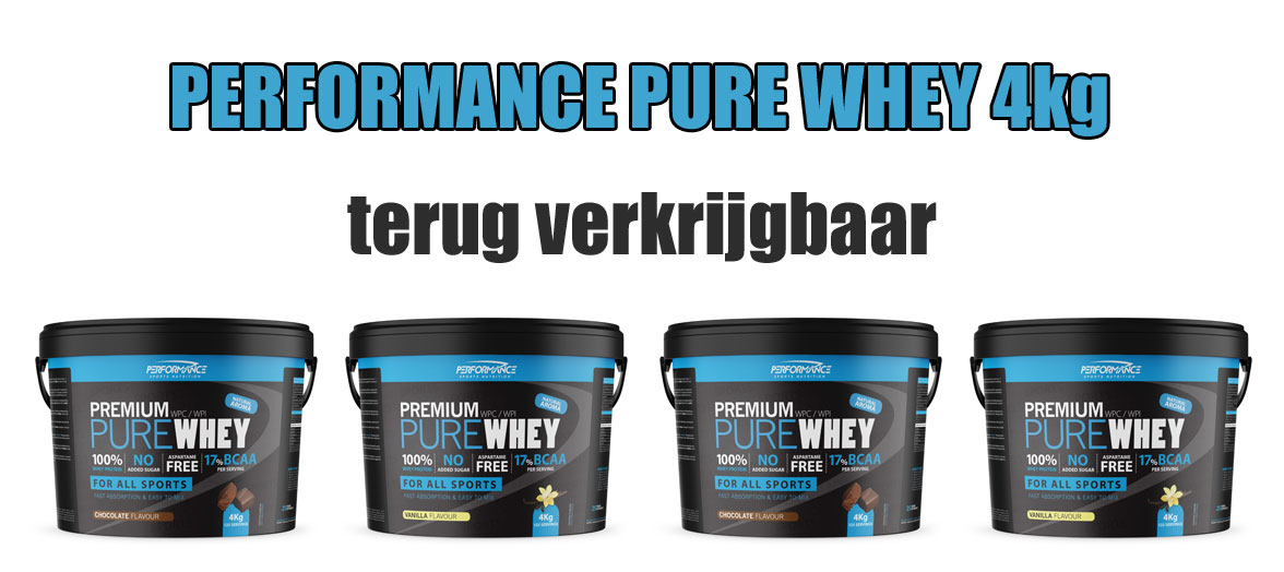 Performance Pure Whey 4kg